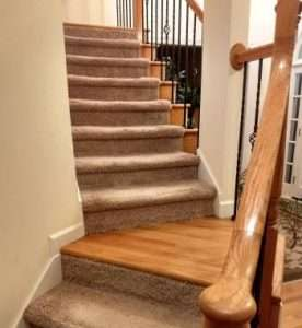 Are carpeted stairs safer for seniors?
