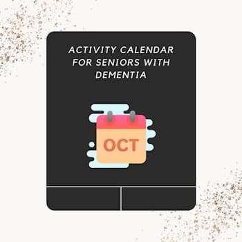 october activity calendar for seniors with dementia