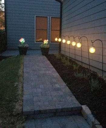 tips on using outdoor solar lights