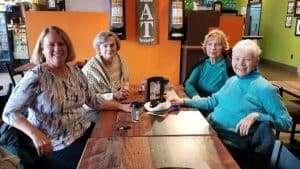 four ladies over 60