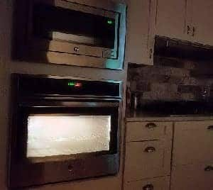 what happens if oven is left on